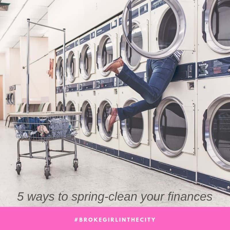 Spring-clean your finances
