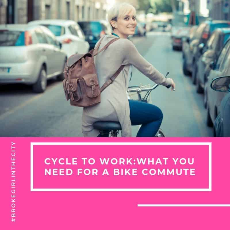 Cycle to Work: What you need for a bike commute