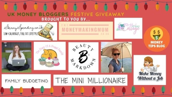 UK Money Bloggers Festive Giveaway