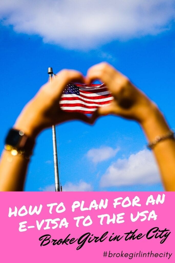 #ESTA How to plan for an e-visa to the USA