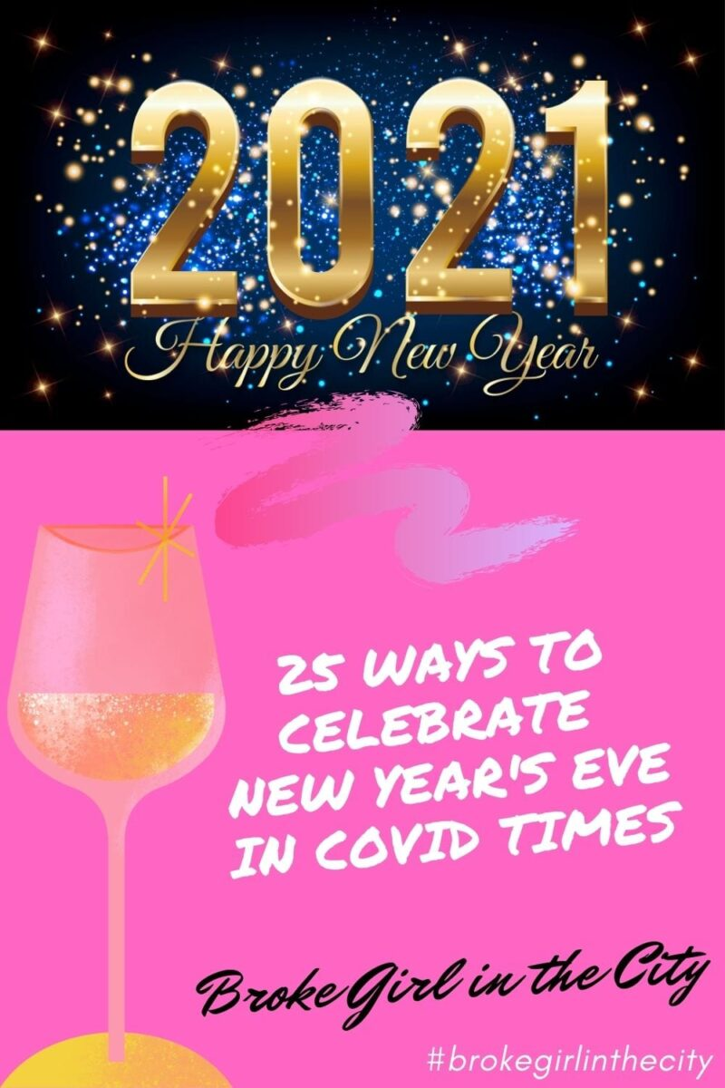 New Year's Eve in Covid Times