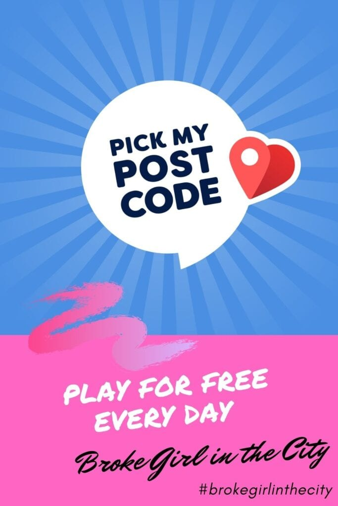 Play the Pick My Postcode for FREE every day
