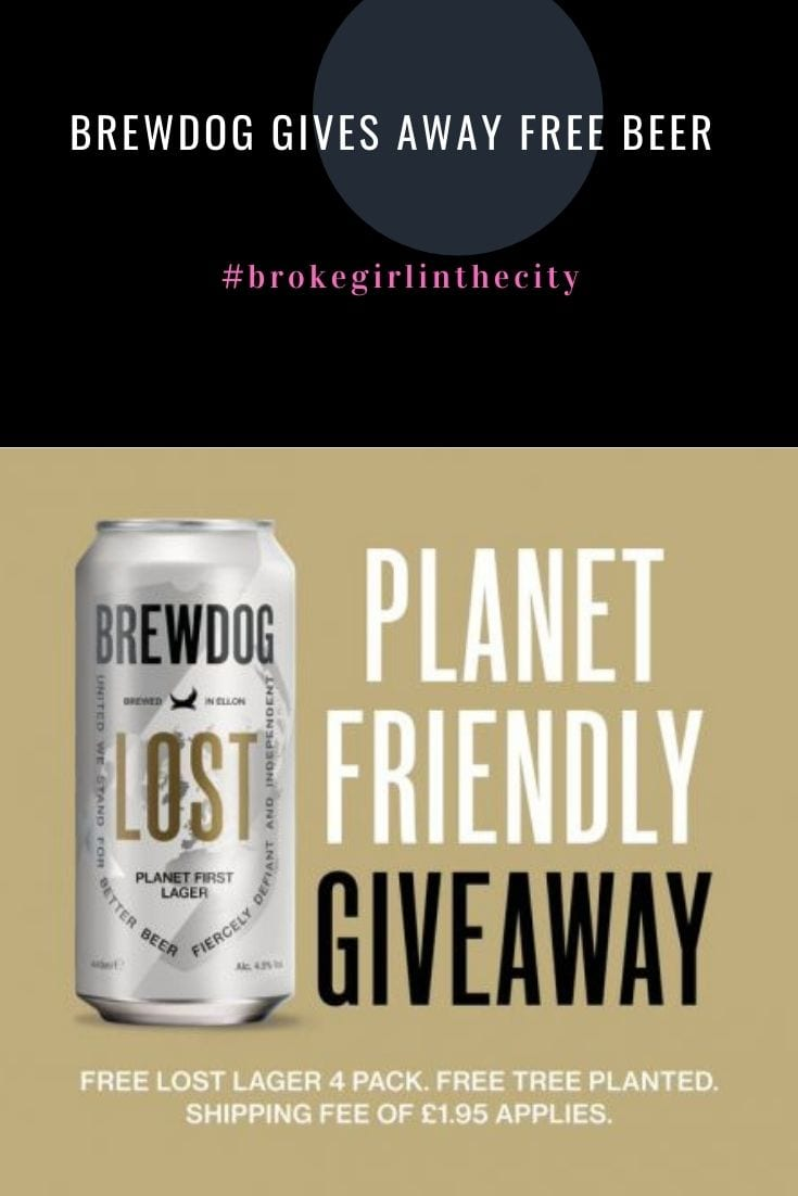 Brewdog gives away FREE beer for everyone in the UK