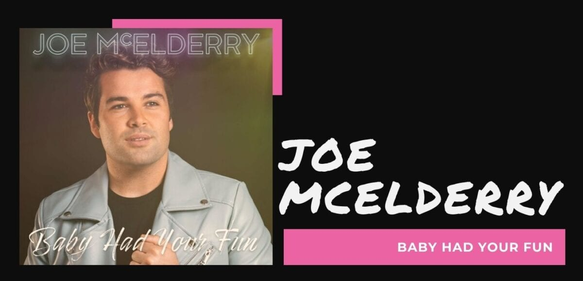 Interview with Joe McElderry: Baby had your fun