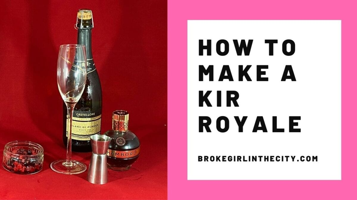 How to make a Kir Royale