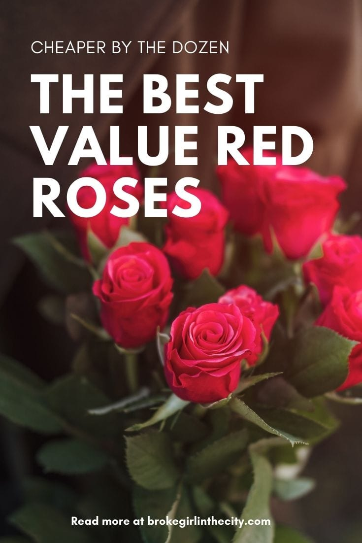 Cheaper by the dozen: The best value red roses