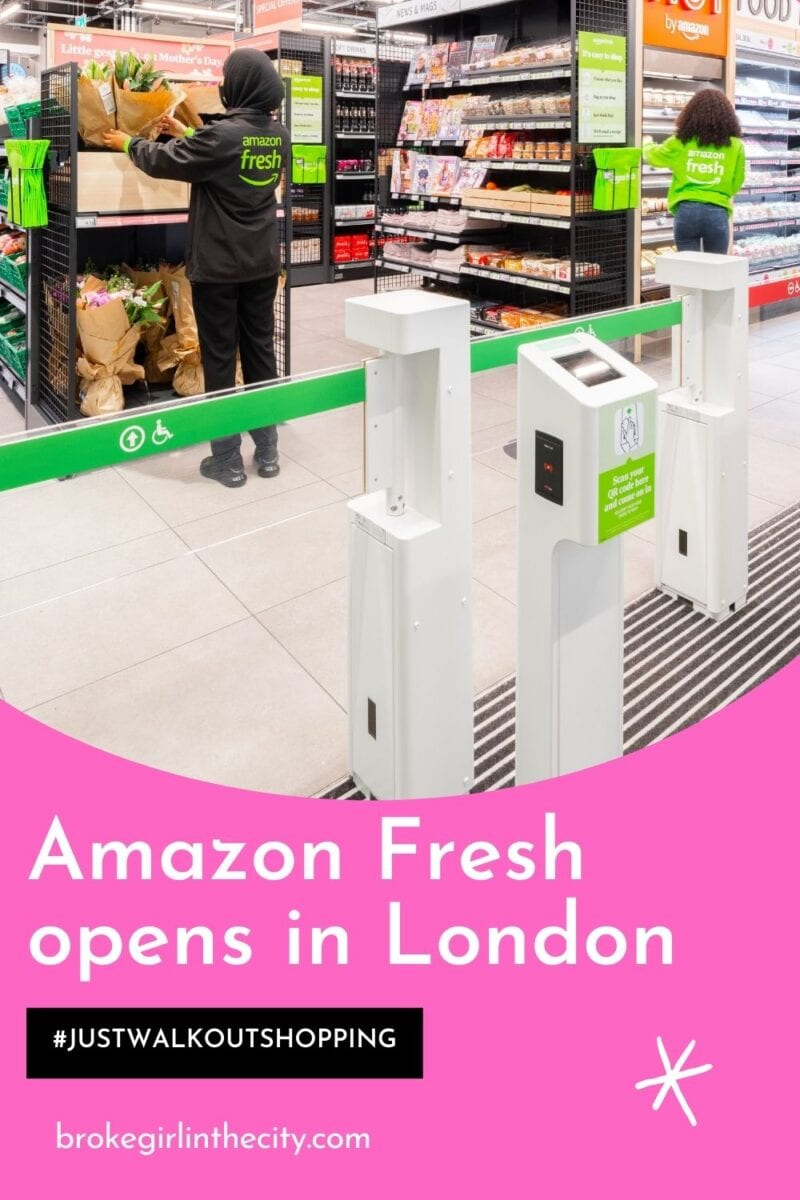 Amazon Fresh opens its first just walk out shopping experience in London