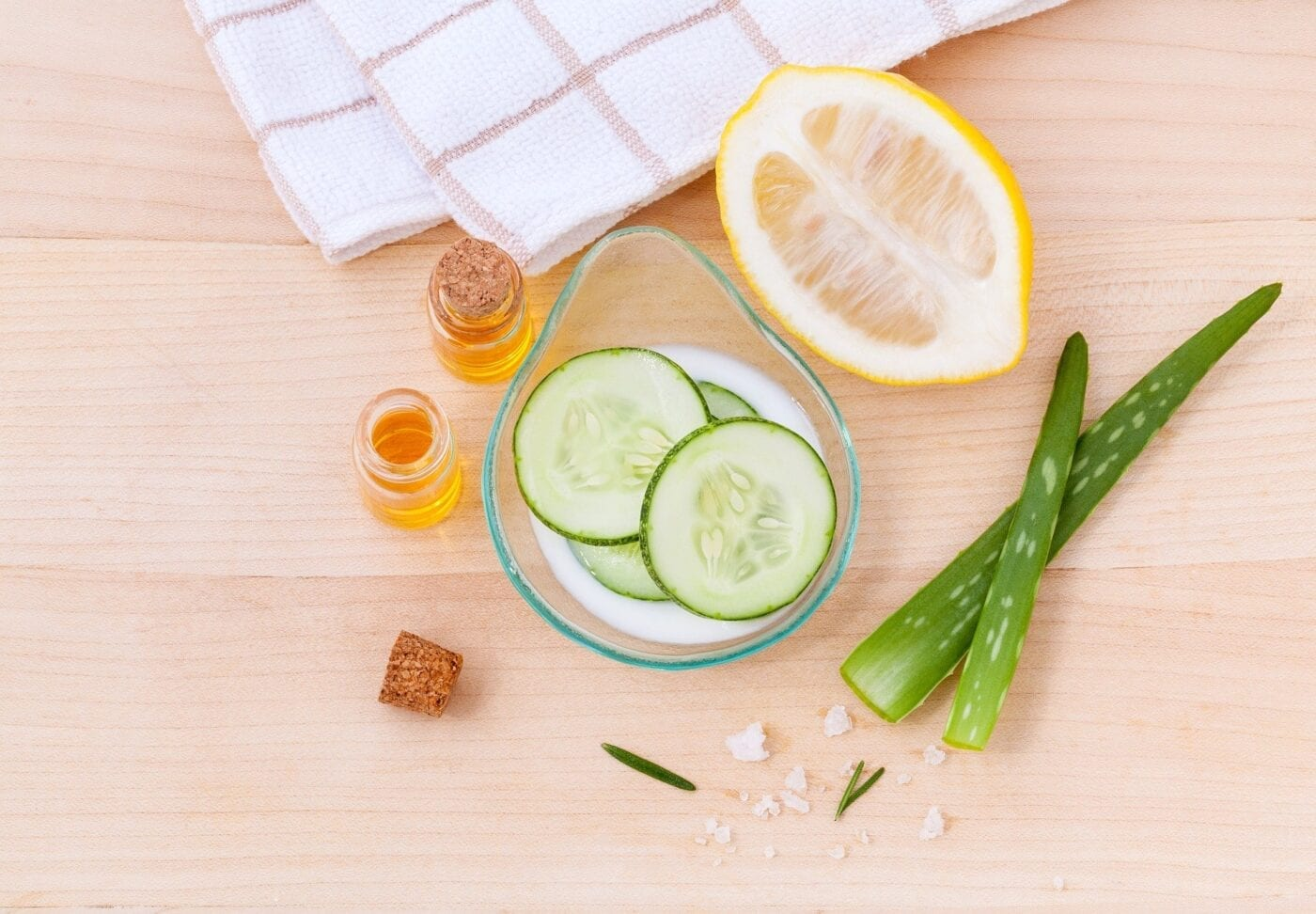Inexpensive and organic body care and cosmetics