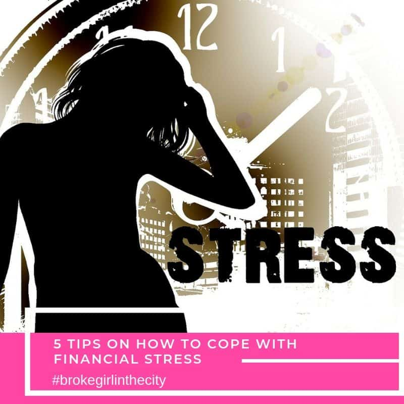 5 tips on how to cope with financial stress