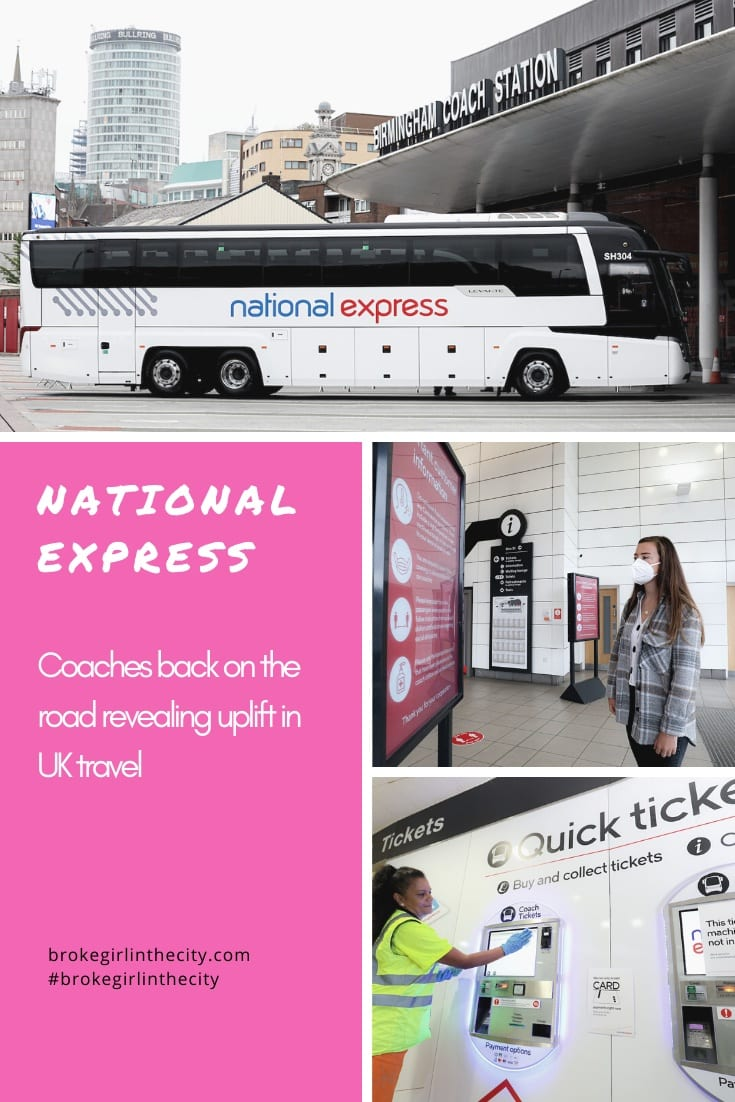 National Express coaches back on the road revealing uplift in UK travel