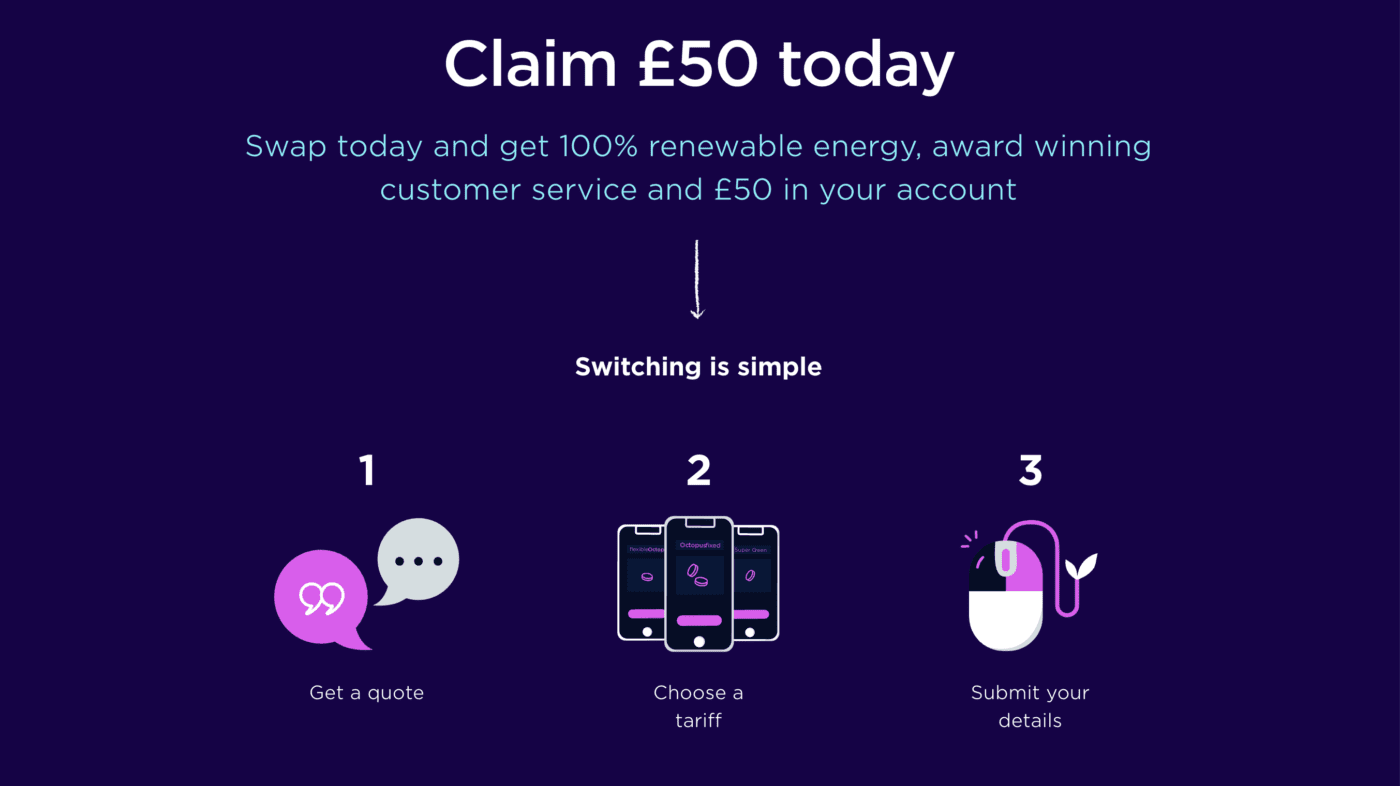 Get £50 off your energy bill