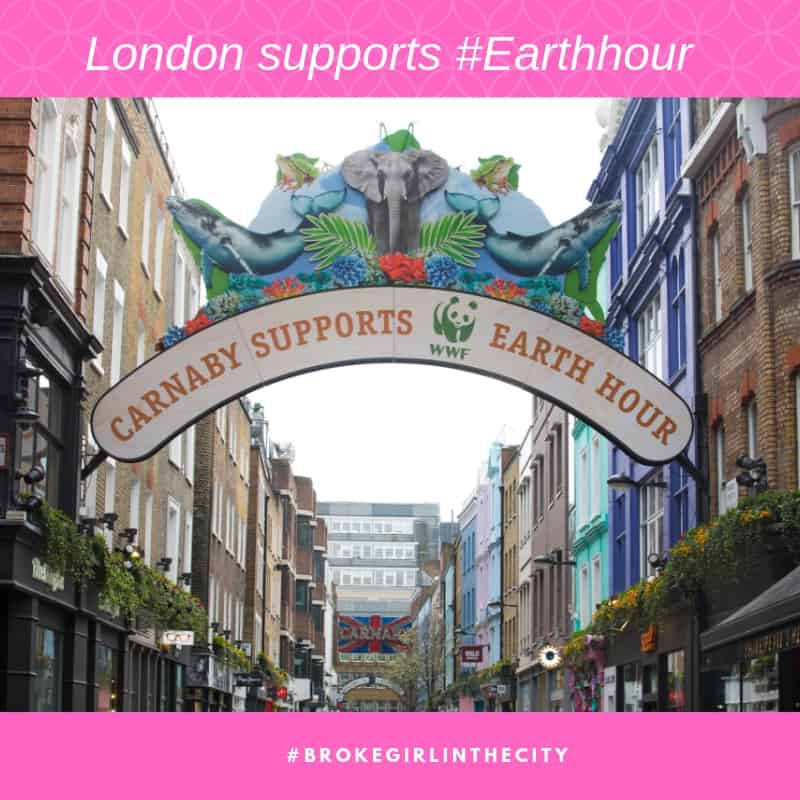 London supports Earth Hour