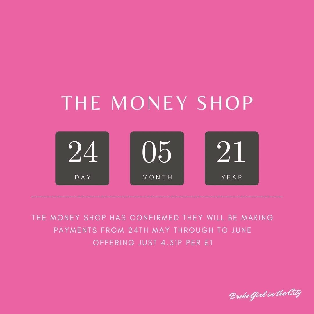 The Money Shop Pay Out Updates